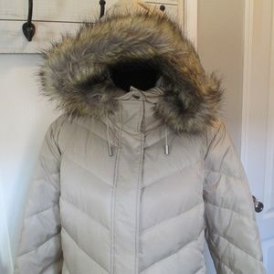Kenneth Cole Mid Length Puffer Coat Size 1X